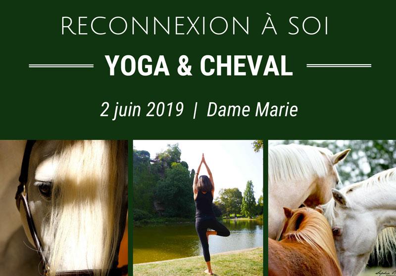 Stage Reconnexion à Soi grâce au Yoga & Cheval